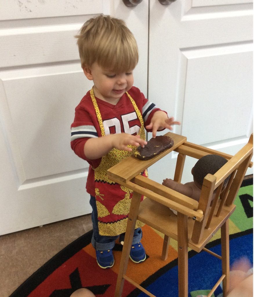 Senior Preschooler Playing at West Ridge Early Education Centre