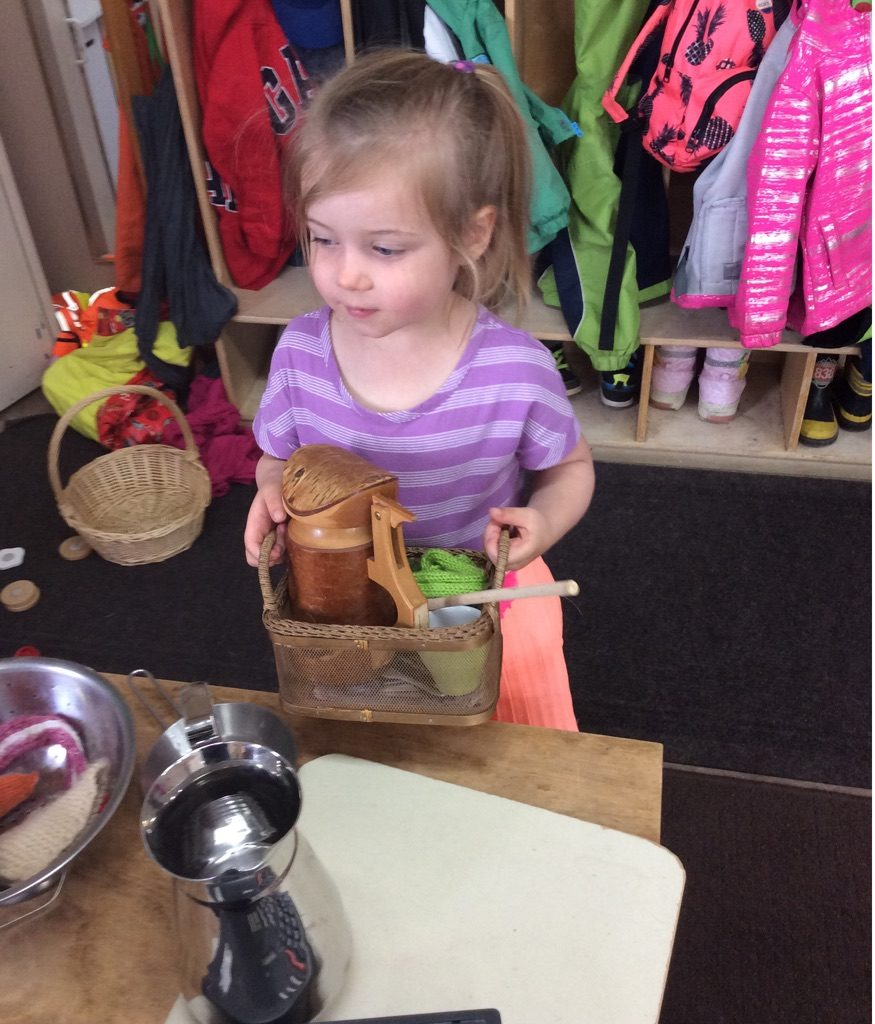 Imaginative play and dress up at early education centre